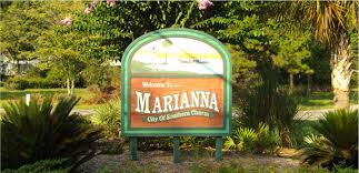 Welcome to Marianna WELCOME sign